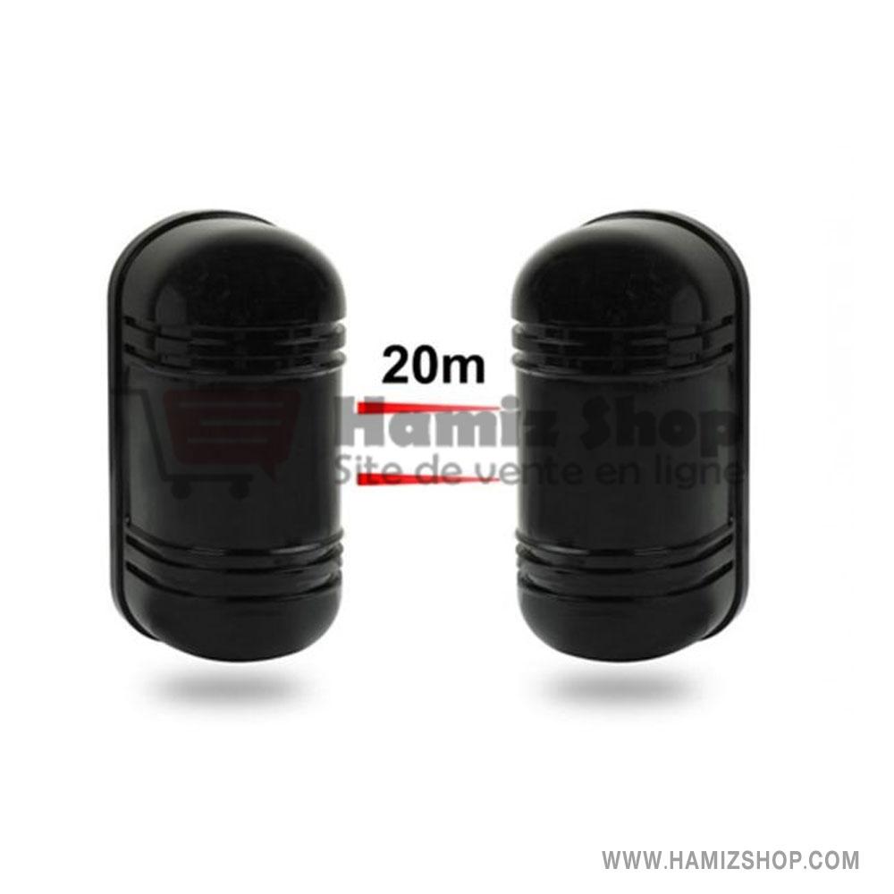 barrière de sécurité infrarouge 20m – TIGER – Hamiz Shop