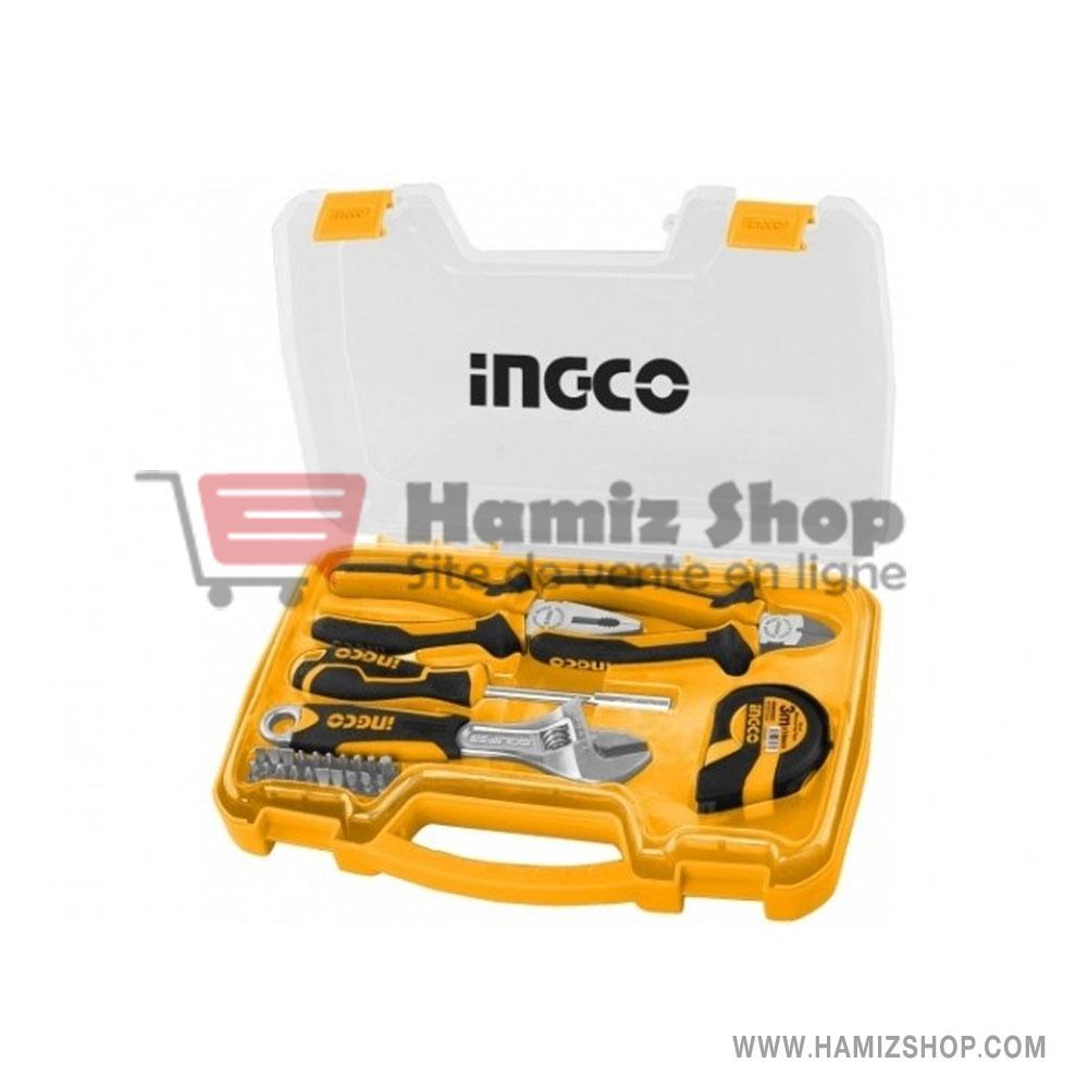 Boîte à outils 213 pièces Boîte à outils Coffret à outils Set à outils